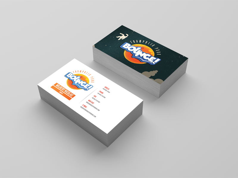 Bounce Business Cards