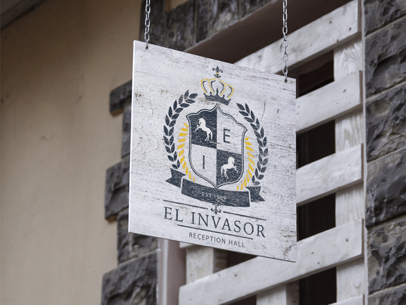 El Invasor Reception Hall Logo